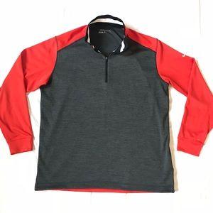 Men's Nike Dri-Fit half zip pullover size XL